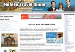 Hotel and Travel Guide